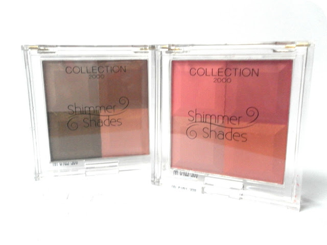 A picture of Collection Shimmer Shades Bronzer Shimmer Brick and Collection Shimmer Shades Blusher Shimmer Brick