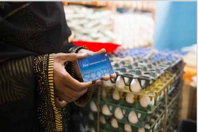 سجل الان في  برنامج الأغذية العالمي يصدر البطاقات النقدية لدعم الأسر الفقيرة