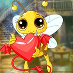Games4King - G4K Beloved Bee Escape Game