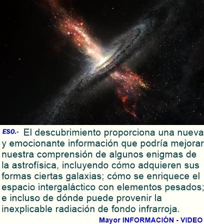 Estrellas que nacen de agujeros negros supermasivos