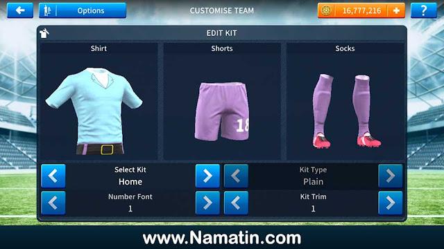 Seragam Dream League Soccer Tuan Krab Spongebob