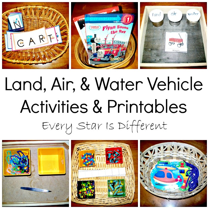 Land, Air & Water Vehicles