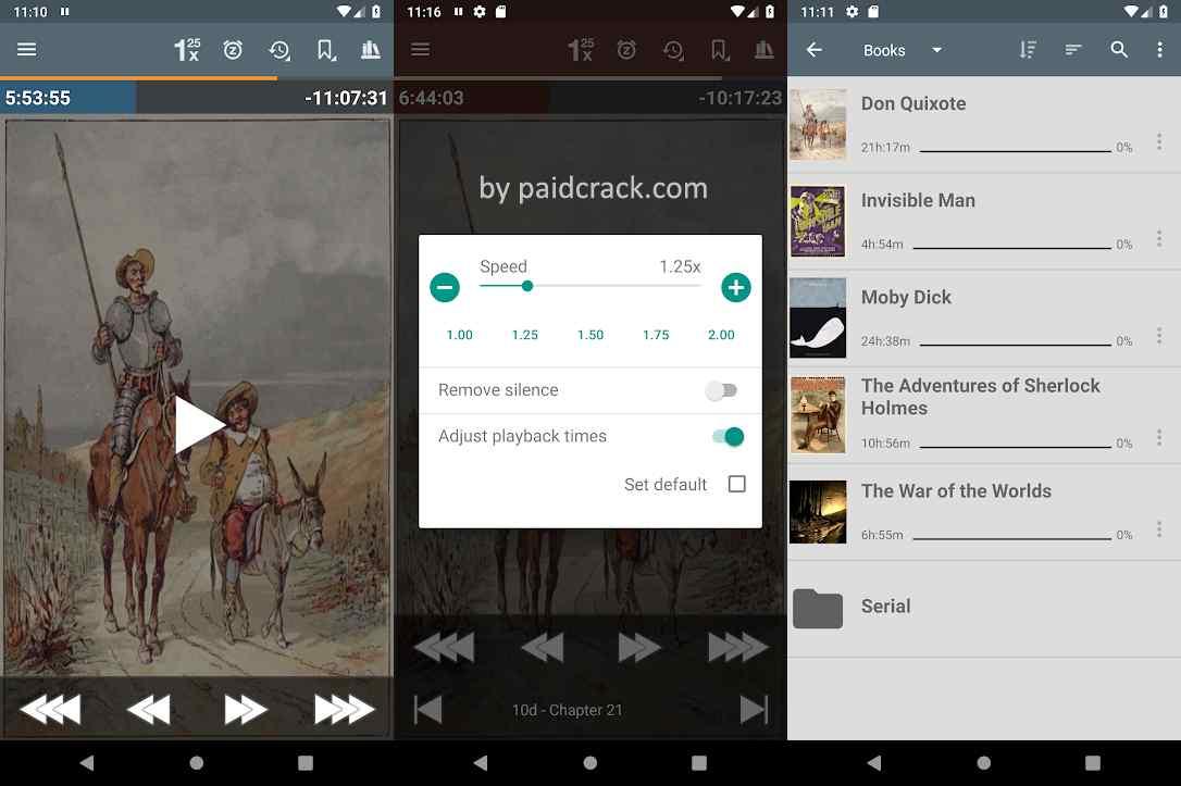 Listen Audiobook Player Mod Apk [Paid]