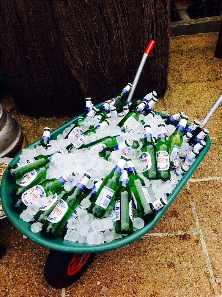 Wedding Drinks Beerbarrow