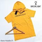 KAOS HOODIE GREENLIGHT KH01