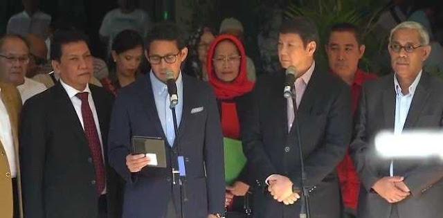 Gugat Hasil Pilpres Ke MK, Sandi: Pelaksanaan Pemilu Tidak Berjalan Baik Dan Jurdil