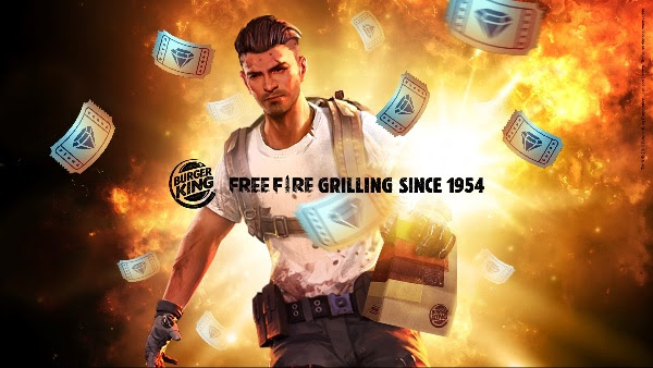 Free Fire Burger King