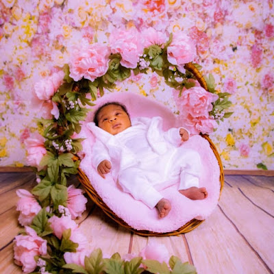 Mercy Johnson new born baby photos 2020
