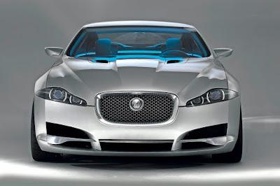 Jaguar XJ premium luxury sedan front look Hd Wallpaper