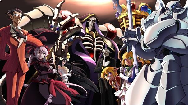 Overlord Daftar Anime Isekai Terbaik ( Tokoh Utama Masuk Dunia Lain )