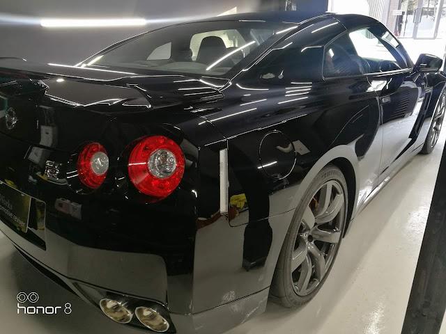 日産/GT-R R35  研磨+樹脂硬化型コーティング【Ω/OMEGA】