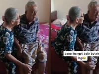 Kakek Cemburu Nenek Dekat Cowok Muda, Nenek Sampai Ngucap Sumpah