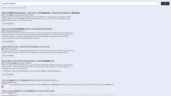 [100% working] Update Custom Search Engine Adsense Untuk Blog AMP 2020