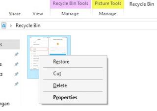Cara Mengembalikan File yang Terhapus di Laptop