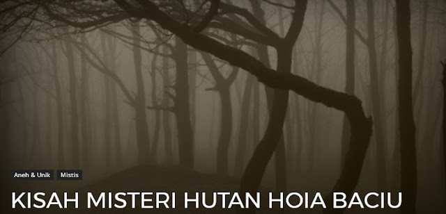 Sebagai salah satu Negara maju di Eropa 3 Misteri Rahasia Hutan Hoia Baciu