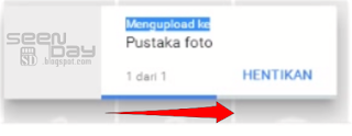 Google Photos - Proses Upload