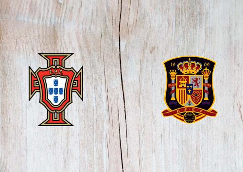 Portugal vs Spain -Highlights 07 October 2020