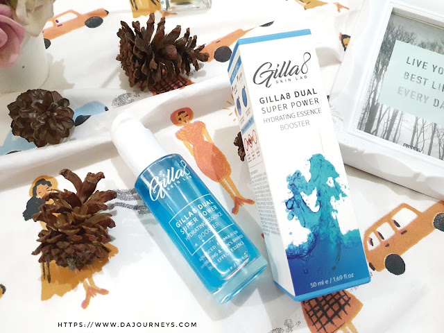 [Review] GILLA8 Dual Super Power Hydrating Essence Booster