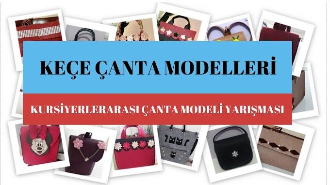 En iyi keçe çanta modelini seçiyoruz | Keçe çanta modelleri