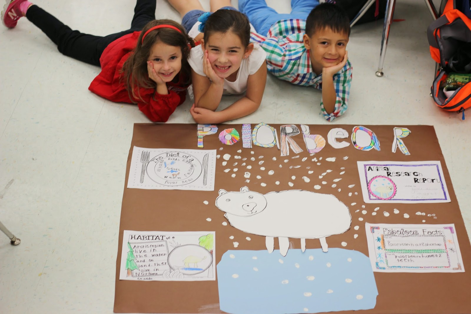 Kindergarten Smiles Animal Research Project