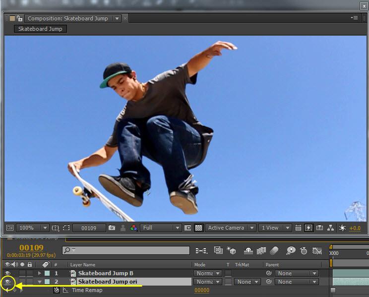 Skateboard Jump 07