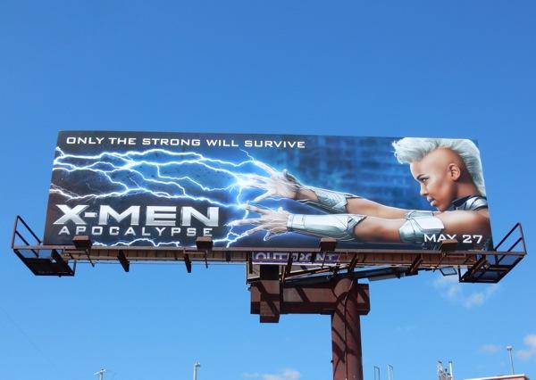 XMen Apocalypse Storm billboard