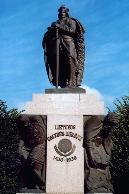 Vytautas the Great Monument, Kaunas, Lithuania