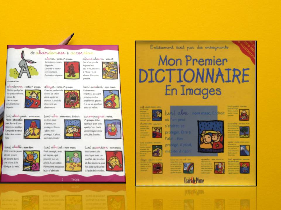 تحميل mon premier dictionnaire en images