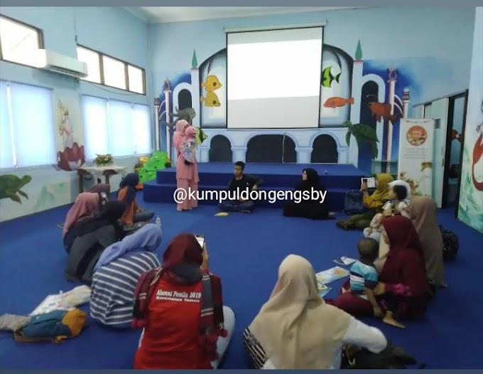 Keseruan Sharing bersama Kumpul Dongeng Surabaya