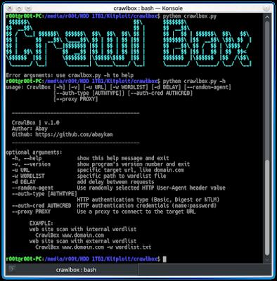 CrawlBox - Diretório da Web do Way To Brute-Force.