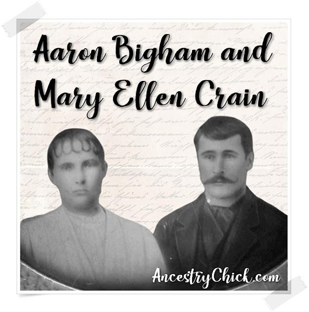 Mary Ellen Crain and Aaron Bigham - Surname Saturday