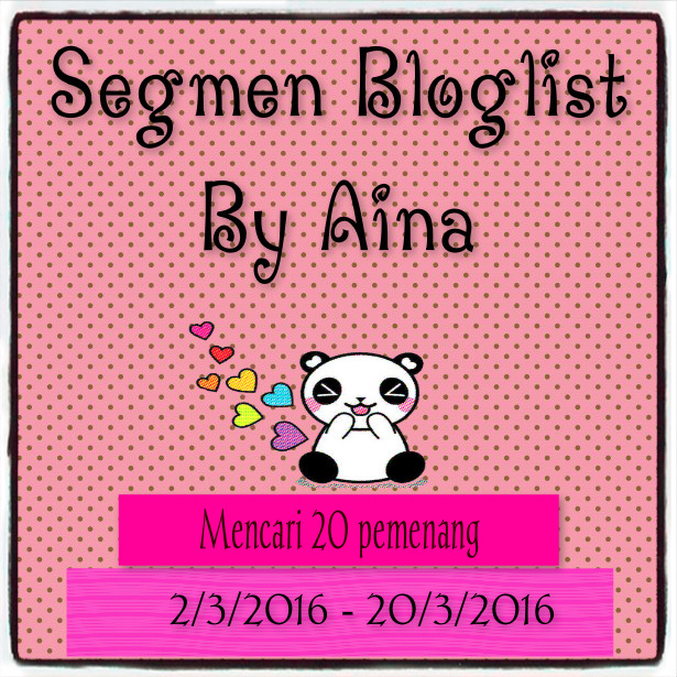 Segmen Bloglist By Aina
