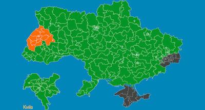 Зеленський переміг в усіх регіонах, крім Львівської області
