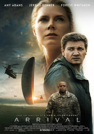 Poster of Arrival 2016 Full Movie DVDScr English 1GB
