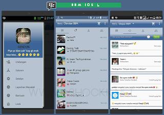 Download Game BBM Mod IOS 10 Versi 3.3.7.93 Apk Update Terbaru