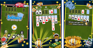 make money online by playing android game solitaire