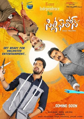 Silly Fellows (2018) UNCUT Hindi HDRip 720p & 480p Dual Audio [Hindi & Telugu] | Full Movie