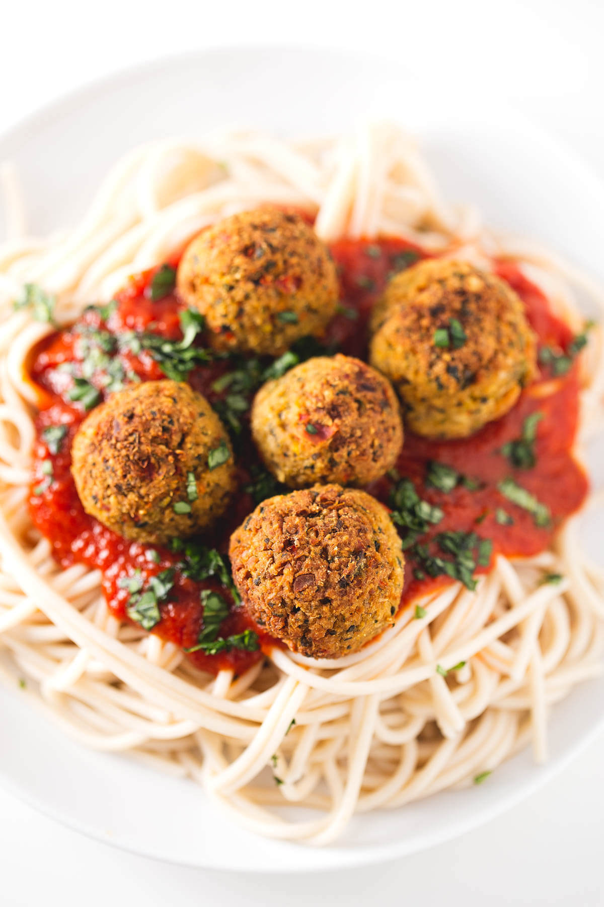 Vegan Ikea-style meatballs: This recipe is inspired by Ikea meatballs, although our version is healthier and has no additives. They are lighter because they are baked.