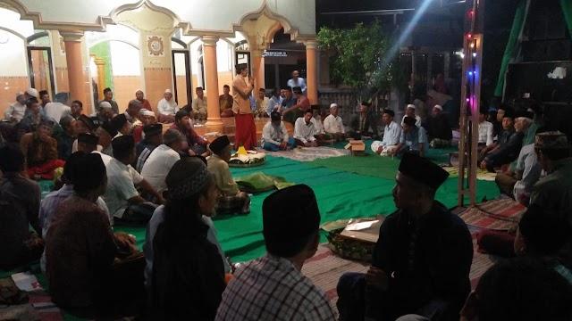 Hadi Sofyan Resmi Dilantik, Warga Trunosari Desa Klanting Gelar Istighosah dan Tasyakuran