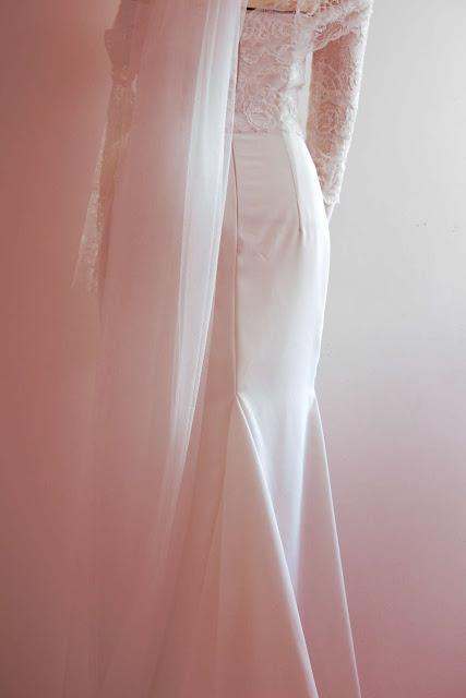 robe de mariage par créateur sur mesure à Versailles