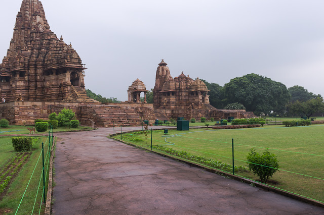 temple complex at Khajuraho Madhya Pradesh India