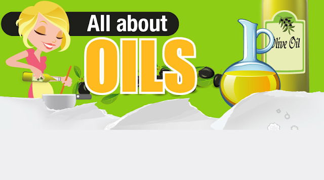 All About Oils  #Infographic