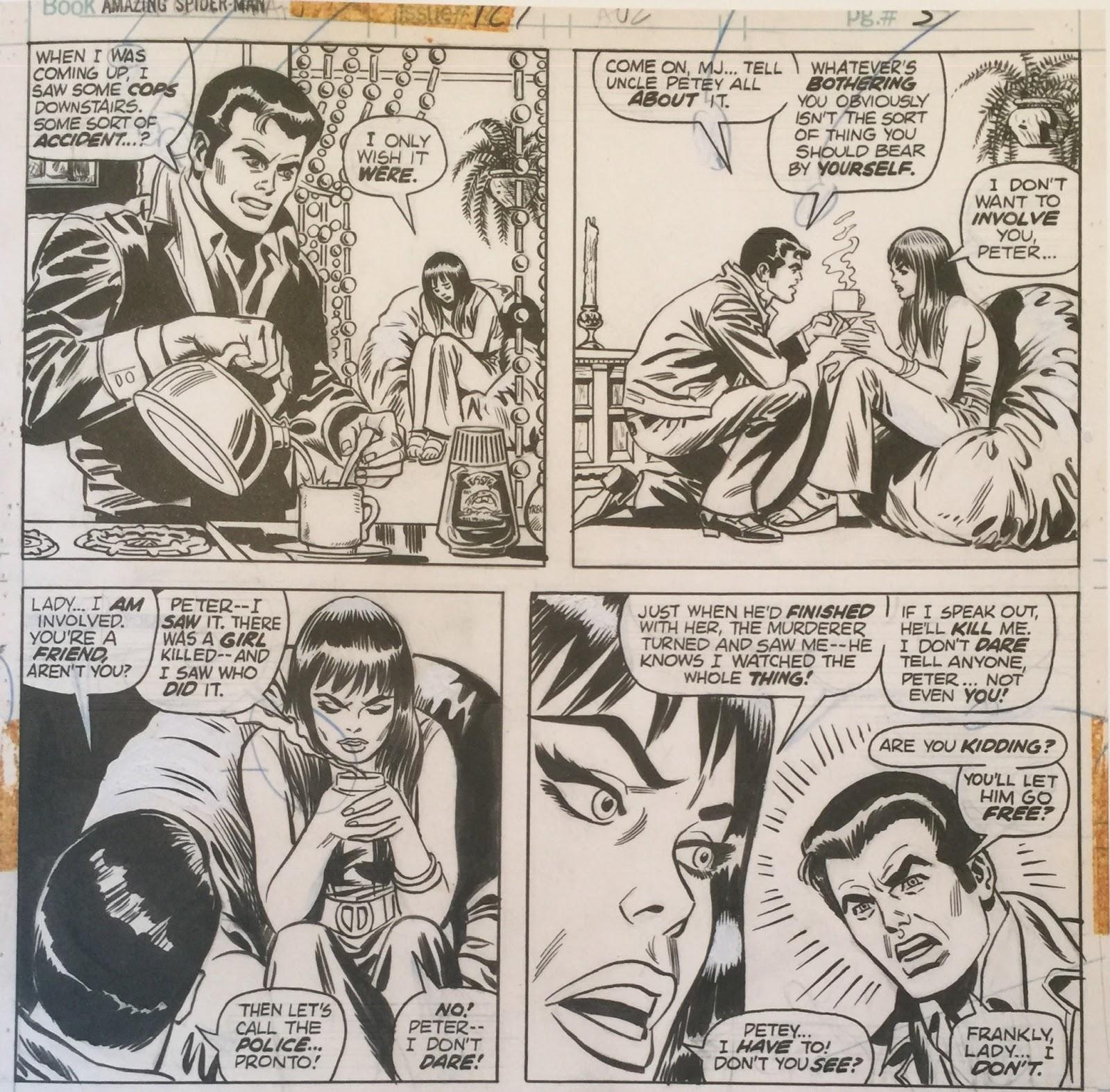 b2ea261da91 Black   White and Bronze!  Ross Andru s Amazing Spider-Man Artist ...