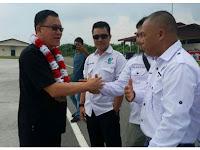 Ketua DPD AJOI Kepri Jhonny Pakun Menghadiri Pelantikan DPC AJOI Natuna