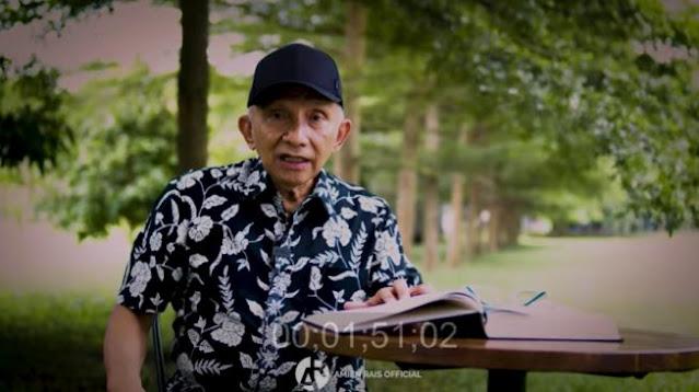 Bandingkan Sama Soeharto, Amien Rais: Rezim Jokowi Ingin Genggam Kekuasaan