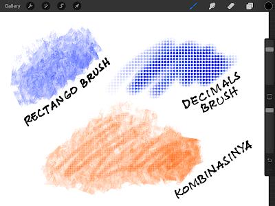 combine brush procreate 5