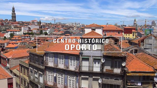 Centro histórico de Oporto (Portugal)