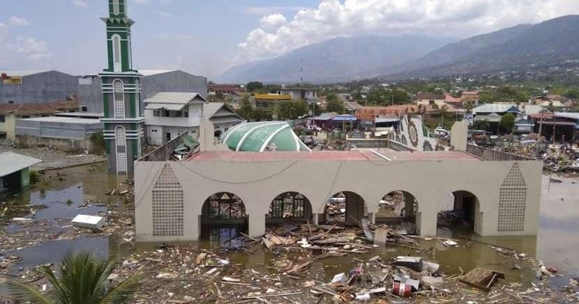 Ilmuwan Asing Terkejut Besarnya Gelombang Tsunami Palu