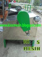 Mesin Perajang Nata De Coco Atau Pemotong Nata De Coco mesin pengiris nata de coco