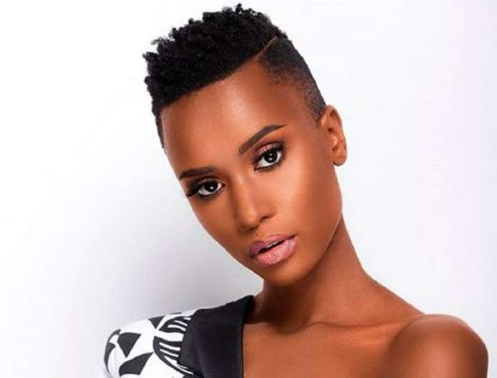 Miss Universe Zozibini Tunzi haircuts are for 2020